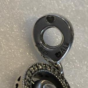 Pandora Jewelry - PANDORA DANGLE SPINNING SIGNATURE CHARM